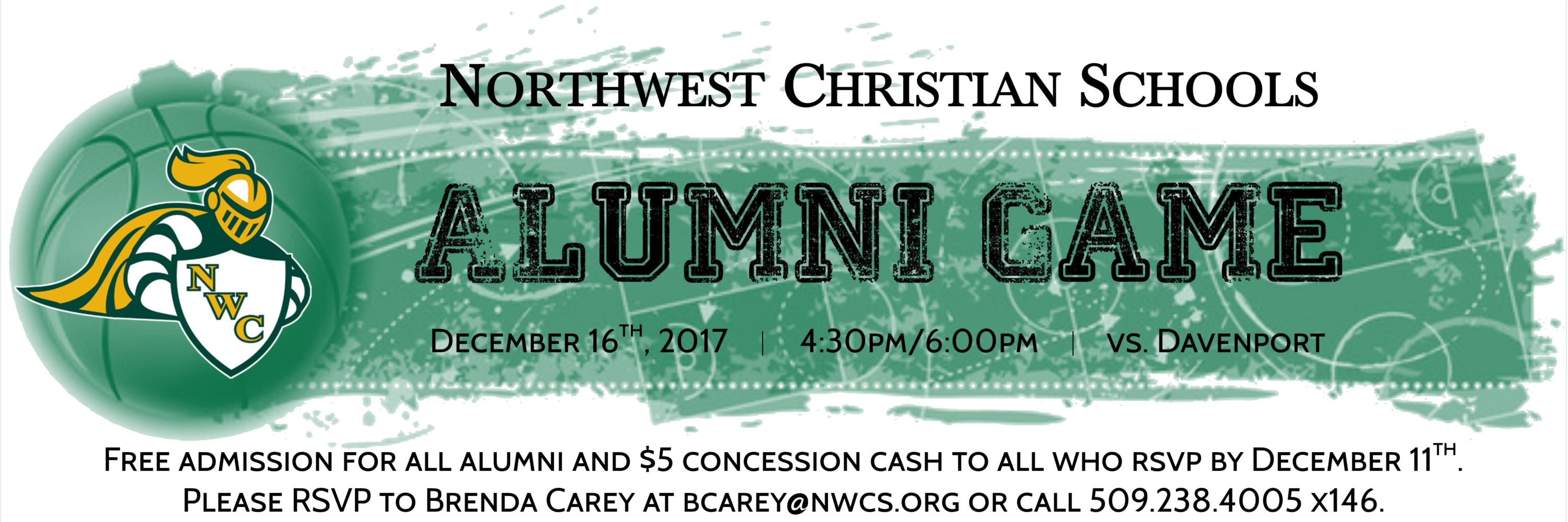 2017 Alumni basketball game slider