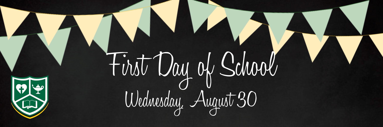 Website Slider First Day of School