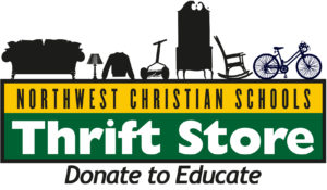 NWCS Thrift Store Logo - Donate to Educate